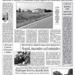 11 giugno 2011 - Batteriosi del kiwi e cinipide del castagno - Incontro col ministro