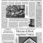 20 maggio2012 - Mercato di Rioli, raggiunta l'intesa