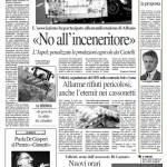 23 ottobre 2012 - No all'inceneritore