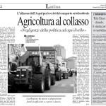 29 luglio 2011 - Agricoltura al collasso