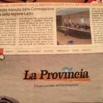 31 luglio 2013 - ASPAL ricevuta dalla Commissione Agricoltura della Regione Lazio