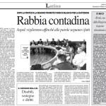 4 marzo 2012 - Batteriosi: rabbia contadina