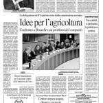 5 aprile 2012 - Idee per l'agricoltura: confronto a Bruxelles