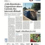 30 maggio -  Aspal: Viticoltura in crisi
