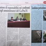 """20 novembre 2013 - Un'azione di responsabilità nei confronti degli """"amministratori"""" della Co.Pro.Vi"""