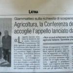 2 agosto 2012 - Agricoltura, la Conferenza delle Regioni accoglie l'appello dall'Aspal