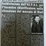 Maggio 2012 - Aspal sulla situazione del mercato di Rioli