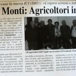 2012 - Manovra Monti: Agricoltori in allarme