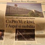 3 agosto - CO.Pro.Vi. e kiwi. ASPAL si mobilita