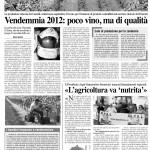 Dal 25 ottobre al 7 novembre - L'agricoltura va nutrita