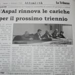 Gennaio  2014 - L'Aspal rinnova le cariche per il prossimo triennio