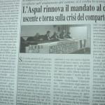Febbraio 2014 - L'Aspal rinnova il mandato al direttivo uscente e torna sulla crisi del comparto agricolo