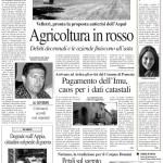 11 giugno 2012 - Agricoltura in rosso